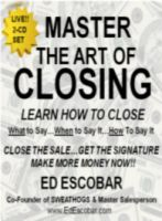 MASTER THE ART OF CLOSING 2-CD SET
